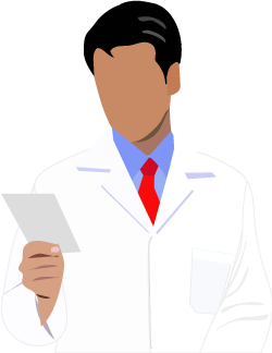 pharmacist holding a narcotic prescription